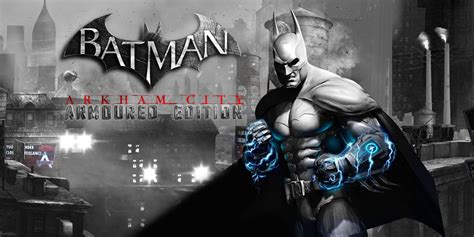 Arkham City batman arkham city armoured edition wii u