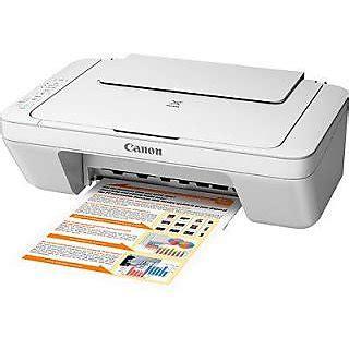 Printer Canon Pixma Mg2570 canon pixma mg2570 all in one inkjet printer white