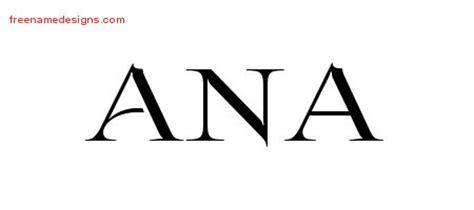 tattoo name ana ana archives free name designs