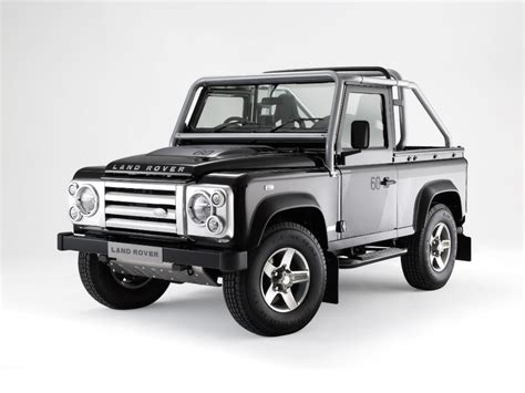 land rover defender svx 2007 land rover defender 90 svx pictures history value