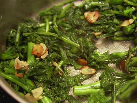 ina garten broccoli broccoli rabe with garlic recipe ina garten food network