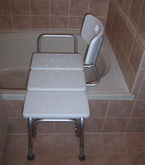 transfer benches bathtub shower aids transfer from wheelchair bench bath chair back wide seat new ebay