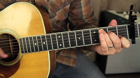 tutorial video guitar fleetwood mac landslide lesson acoustic fingerpicking