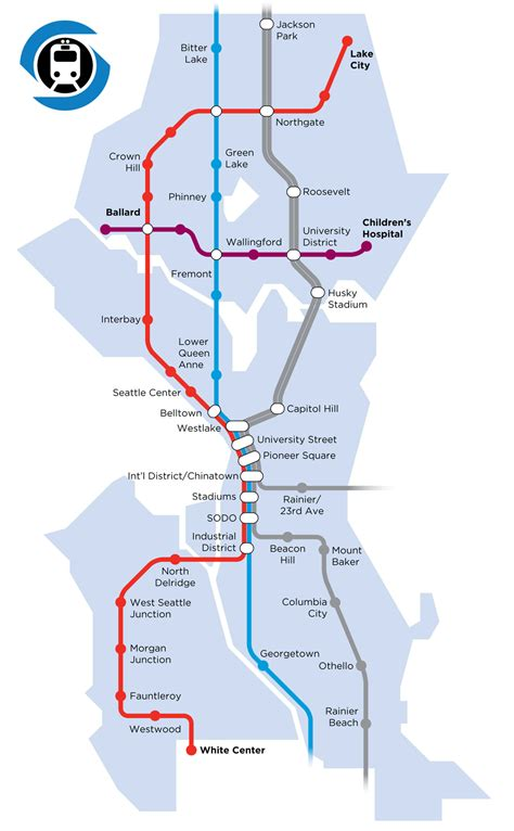 seattle map metro let s build a seattle subway