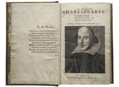 shakespeare biography list publishing shakespeare folger shakespeare library