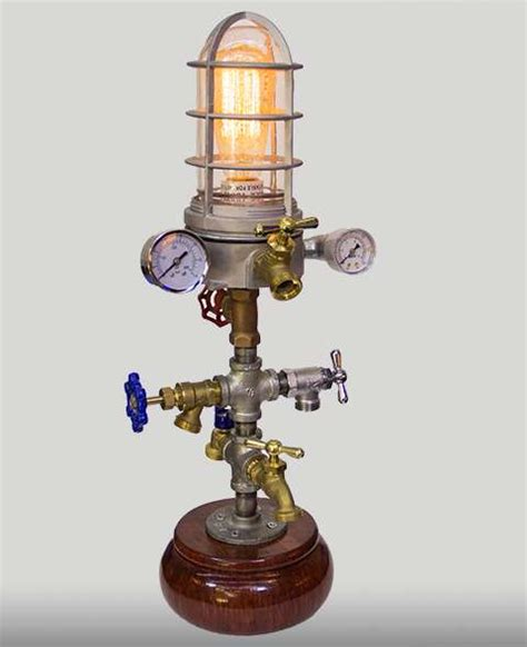 Home Decor And Lighting by Minaret Steampunk Lamp American Steampunk Lamp Company
