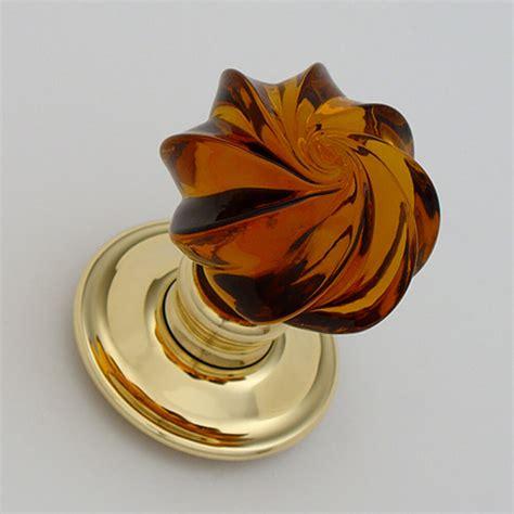 Handmade Glass Door Knobs - whirl handmade glass door knobs the period ironmonger