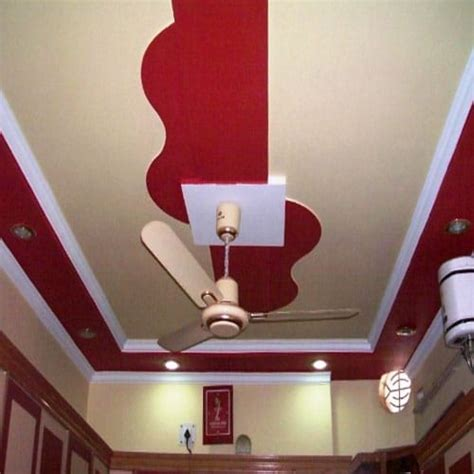 lihat warna plafon coklat