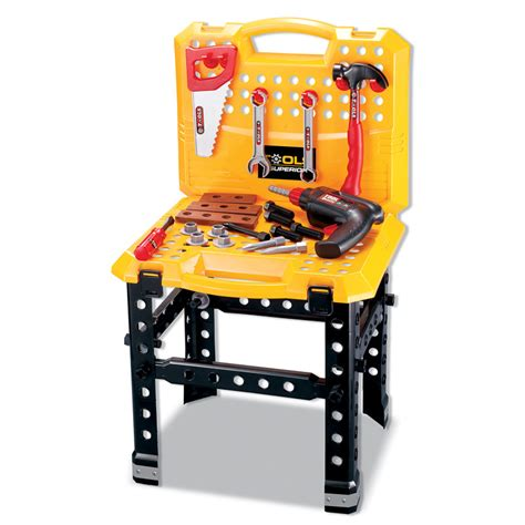 toddler tool bench toy kids toy tool bench 53pc diy toys role play