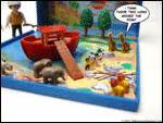 ark boat stuck on land millionaire playboy toys collectibles playmobil