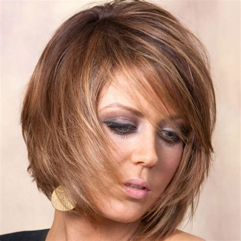 older women short brown hair with highlights brown hair with highlights on older women