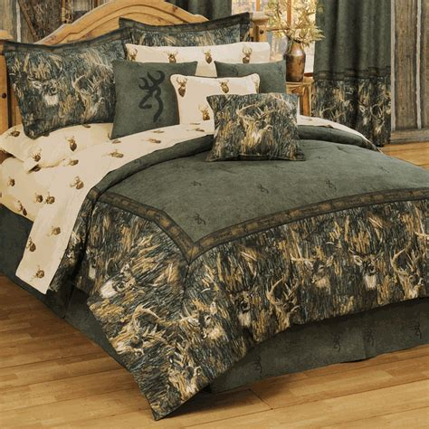 browning bed sets browning camouflage comforter sets king size browning