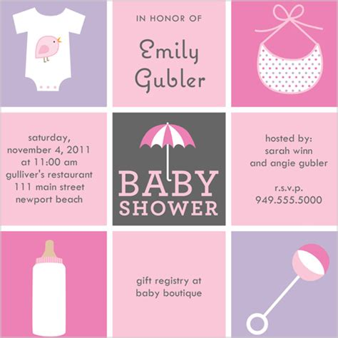 How To Design Baby Shower Invitations by Design Baby Shower Invitations Theruntime