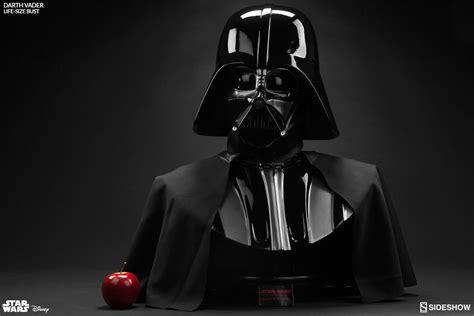 Darth Vader Wars wars darth vader size bust by sideshow