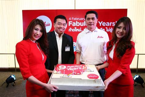 thai airasia celebrates  birthday  added benefits