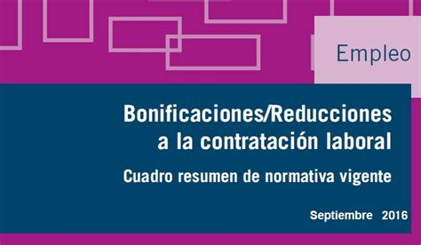 bonificaciones contratos 2016 sepe bonificaciones contratos de trabajo septiembre 2016