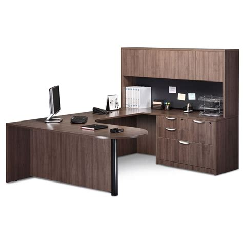 Desk And Hutch Combo by Quot U Quot Desk Hutch Combo File Office Furniture Ez