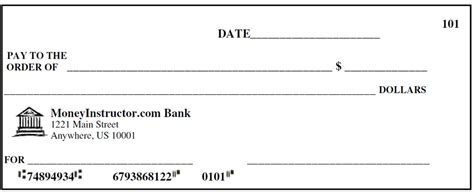 Template For Checks 24 blank check templates free premium templates