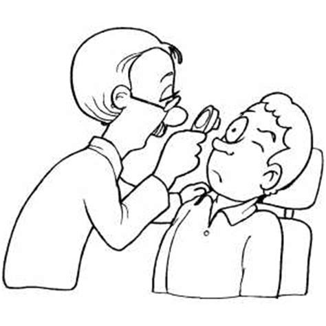 coloring pages eye doctor doctor examining patient eye coloring page doctor