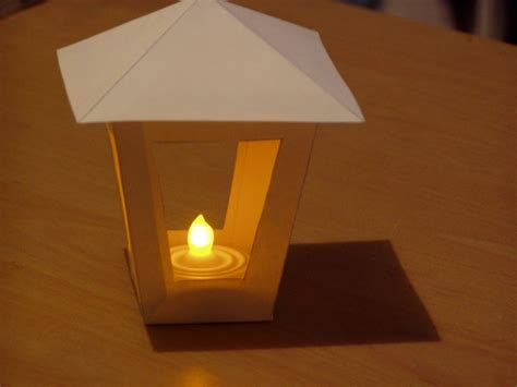lantern template display box