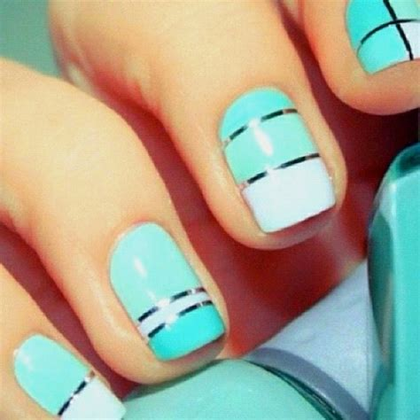 easy nail designs to do at home for nails