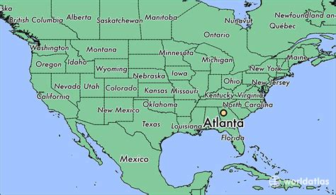atlanta map in us where is atlanta ga atlanta map worldatlas