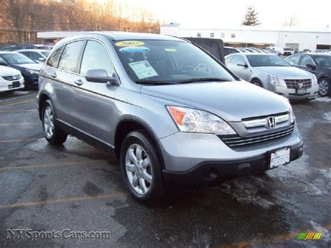 2007 honda cr v 4wd 2007 honda cr v ex l 4wd in whistler silver metallic