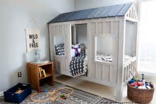 diy cabin bed finishing tutorial the house of wood