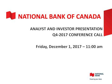 national bank of canada national bank of canada 2017 q4 results earnings call