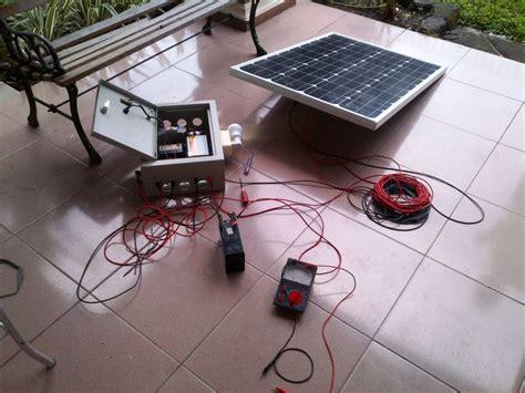 Paket Lu Taman Solar Cell 20wp jual solar panel solar cell termurah distributor panel