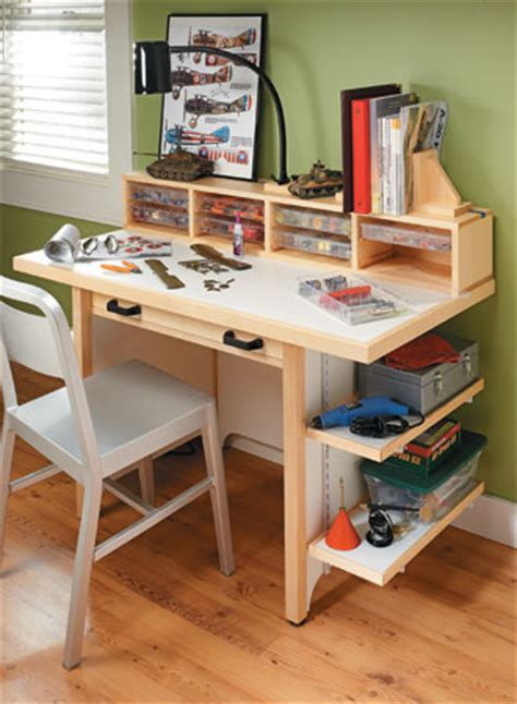 hobby bench hard working hobby bench woodsmith plans