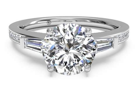 what is a baguette engagement ring ritani