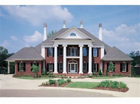 colonial house plan southern colonial style house plans federal style house