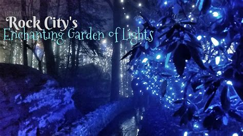 Rock City Enchanted Garden Of Lights Coupon A Visit To Rock City S Enchanted Garden Of Lights Seeking The Weekend