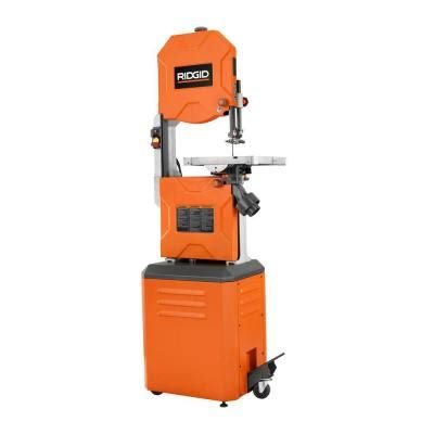 ridgid 14 in band saw r474 the home depot