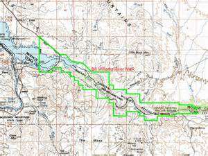 black river arizona map bill williams river nwr hiking arizona hikearizona