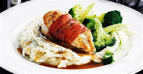 slimming world recipes posh chicken with mash and - Posh Dinner Recipes