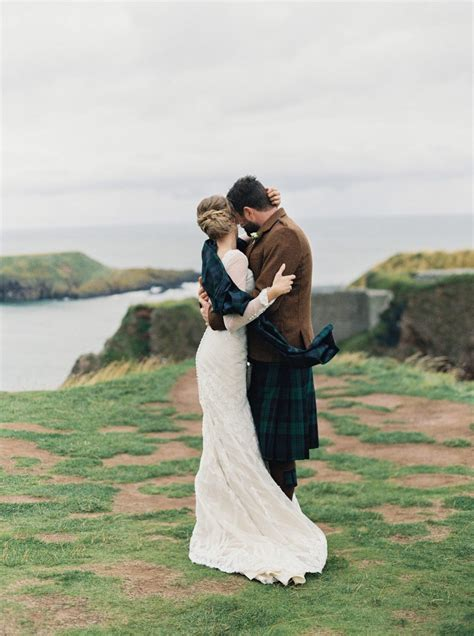 Intimate Clifftop Scotland Wedding   Laura Gordon Fine Art