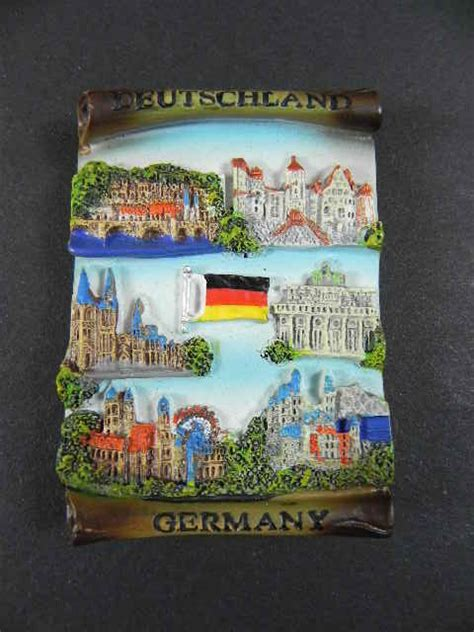 Souvenir Germany Magnet Kulkas Germany m 252 nchen berlin frankfurt germany magnet set souvenir 6 parts new ebay