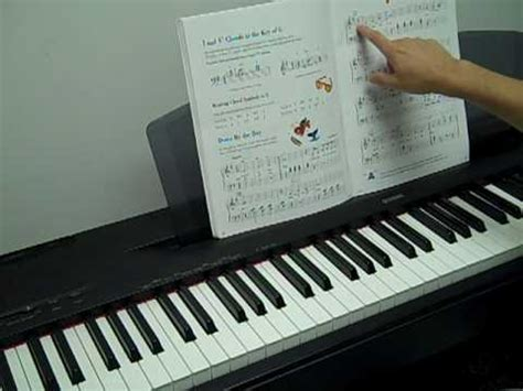 piano tutorial up is down piano tutorial down by the bay level 2b lesson