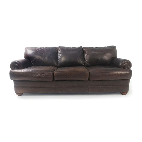 used brown leather couch furnishare buy and sell used furniture