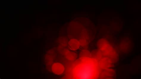 Red Soft Bokeh Animated Background Stock Footage Soft Red Fading Lights