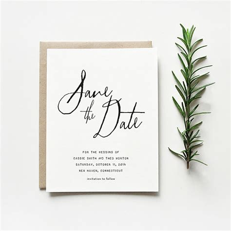 Save The Date Wedding by Paperlust Save The Date Wording Guide Wedding