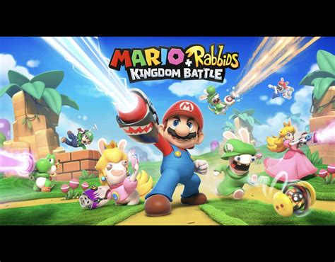 Murah Mario Rabbids Kingdom Battle Nintendo Switch mario rabbids kingdom battle hype continues as more