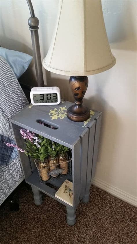 bedroom side table ideas 1000 ideas about night stands on pinterest bedroom
