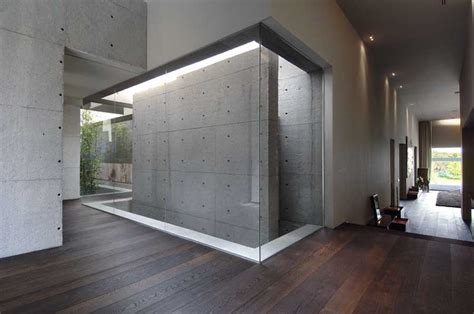 concrete house contemporary spanish home  architect