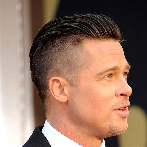 hairstyles on top longer at back brad pitt haircuts and longer hair on pinterest