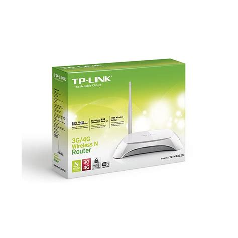 Router Tp Link Tl Mr3220 router wireless tp link tl mr3220 3 4g 5dbi bistrita