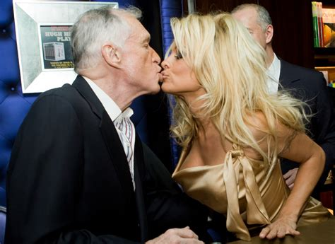 Hugh Hefner And On Baby Theres Been Lots Of Trying by In White Folks News Bawls Uncontrollably