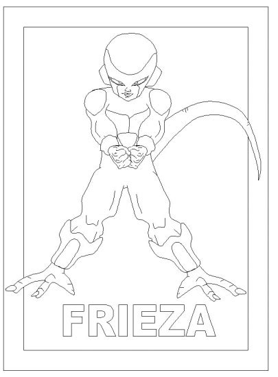 dragon ball z frieza coloring pages dbz frieza colouring pages